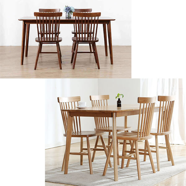 windsor chairs dining set