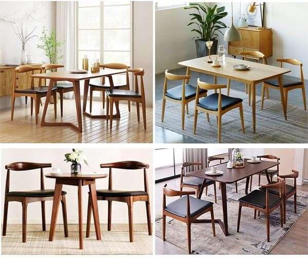 CH20 elbow chair dining sets