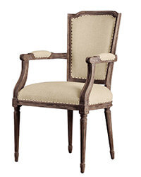 French Classic Antique Dining Chair